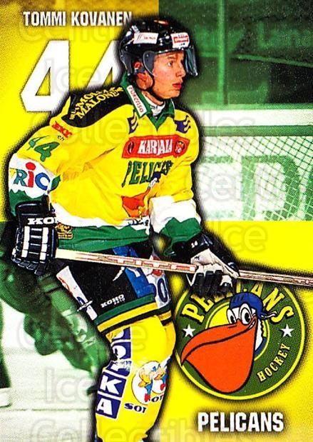 1999-00 Finnish Cardset #295 Tommi Kovanen<br/>11 In Stock - $2.00 each - <a href=https://centericecollectibles.foxycart.com/cart?name=1999-00%20Finnish%20Cardset%20%23295%20Tommi%20Kovanen...&quantity_max=11&price=$2.00&code=160269 class=foxycart> Buy it now! </a>