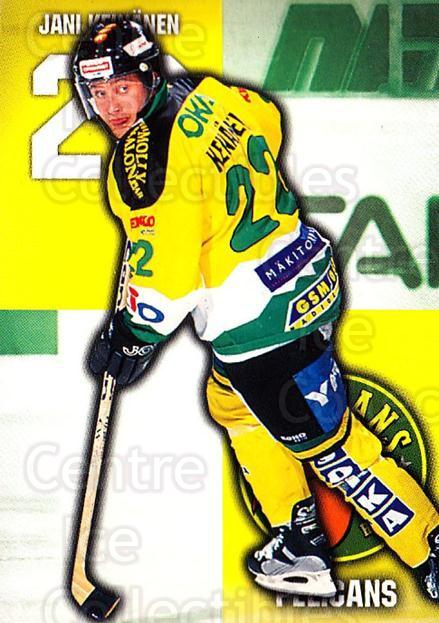 1999-00 Finnish Cardset #297 Jani Keinanen<br/>10 In Stock - $2.00 each - <a href=https://centericecollectibles.foxycart.com/cart?name=1999-00%20Finnish%20Cardset%20%23297%20Jani%20Keinanen...&quantity_max=10&price=$2.00&code=160271 class=foxycart> Buy it now! </a>