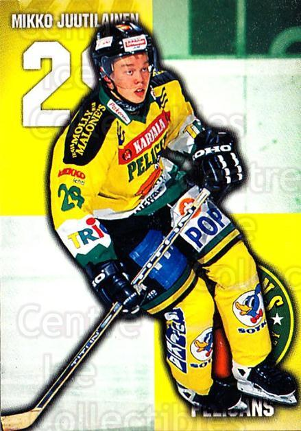 1999-00 Finnish Cardset #298 Mikko Juutilainen<br/>7 In Stock - $2.00 each - <a href=https://centericecollectibles.foxycart.com/cart?name=1999-00%20Finnish%20Cardset%20%23298%20Mikko%20Juutilain...&quantity_max=7&price=$2.00&code=160272 class=foxycart> Buy it now! </a>