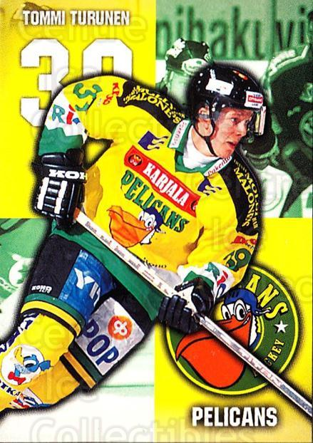 1999-00 Finnish Cardset #300 Tommi Turunen<br/>8 In Stock - $2.00 each - <a href=https://centericecollectibles.foxycart.com/cart?name=1999-00%20Finnish%20Cardset%20%23300%20Tommi%20Turunen...&quantity_max=8&price=$2.00&code=160276 class=foxycart> Buy it now! </a>