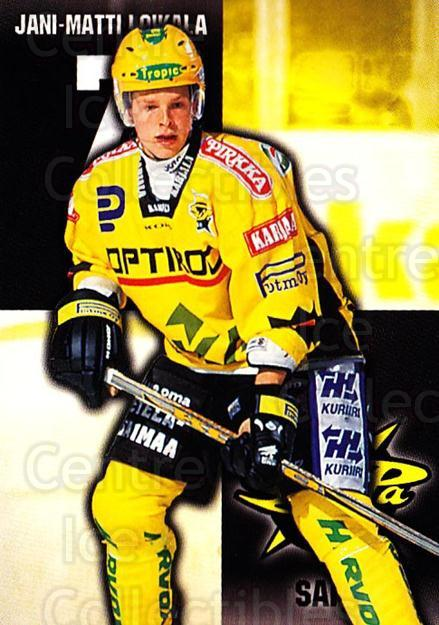 1999-00 Finnish Cardset #304 Jani-Matti Loikala<br/>11 In Stock - $2.00 each - <a href=https://centericecollectibles.foxycart.com/cart?name=1999-00%20Finnish%20Cardset%20%23304%20Jani-Matti%20Loik...&quantity_max=11&price=$2.00&code=160280 class=foxycart> Buy it now! </a>