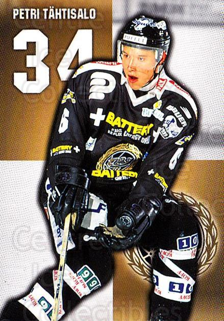1999-00 Finnish Cardset #331 Petri Tahtisalo<br/>8 In Stock - $2.00 each - <a href=https://centericecollectibles.foxycart.com/cart?name=1999-00%20Finnish%20Cardset%20%23331%20Petri%20Tahtisalo...&quantity_max=8&price=$2.00&code=160310 class=foxycart> Buy it now! </a>