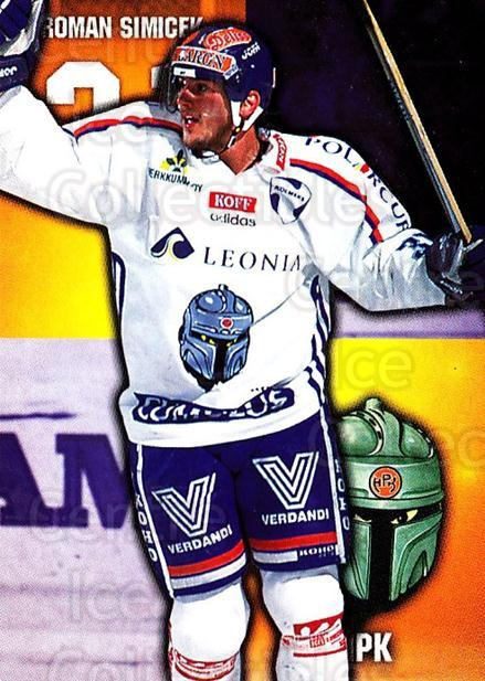 1999-00 Finnish Cardset #34 Roman Simicek<br/>3 In Stock - $2.00 each - <a href=https://centericecollectibles.foxycart.com/cart?name=1999-00%20Finnish%20Cardset%20%2334%20Roman%20Simicek...&quantity_max=3&price=$2.00&code=160319 class=foxycart> Buy it now! </a>