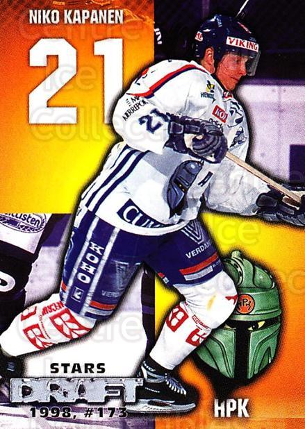 1999-00 Finnish Cardset #41 Niko Kapanen<br/>5 In Stock - $2.00 each - <a href=https://centericecollectibles.foxycart.com/cart?name=1999-00%20Finnish%20Cardset%20%2341%20Niko%20Kapanen...&quantity_max=5&price=$2.00&code=160334 class=foxycart> Buy it now! </a>