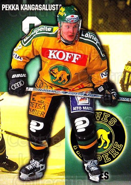 1999-00 Finnish Cardset #46 Pekka Kangasalusta<br/>6 In Stock - $2.00 each - <a href=https://centericecollectibles.foxycart.com/cart?name=1999-00%20Finnish%20Cardset%20%2346%20Pekka%20Kangasalu...&quantity_max=6&price=$2.00&code=160339 class=foxycart> Buy it now! </a>