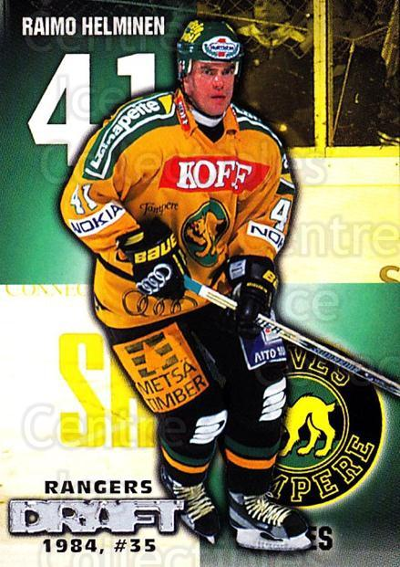 1999-00 Finnish Cardset #52 Raimo Helminen<br/>3 In Stock - $2.00 each - <a href=https://centericecollectibles.foxycart.com/cart?name=1999-00%20Finnish%20Cardset%20%2352%20Raimo%20Helminen...&price=$2.00&code=160346 class=foxycart> Buy it now! </a>