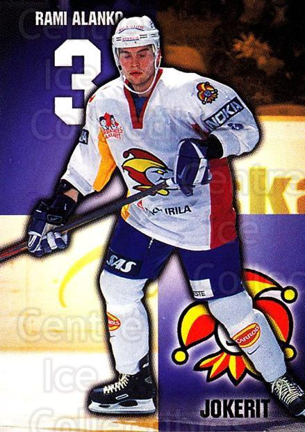 1999-00 Finnish Cardset #57 Rami Alanko<br/>4 In Stock - $2.00 each - <a href=https://centericecollectibles.foxycart.com/cart?name=1999-00%20Finnish%20Cardset%20%2357%20Rami%20Alanko...&price=$2.00&code=160351 class=foxycart> Buy it now! </a>