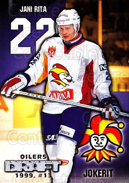1999-00 Finnish Cardset #60 Jani Rita<br/>5 In Stock - $2.00 each - <a href=https://centericecollectibles.foxycart.com/cart?name=1999-00%20Finnish%20Cardset%20%2360%20Jani%20Rita...&price=$2.00&code=160355 class=foxycart> Buy it now! </a>