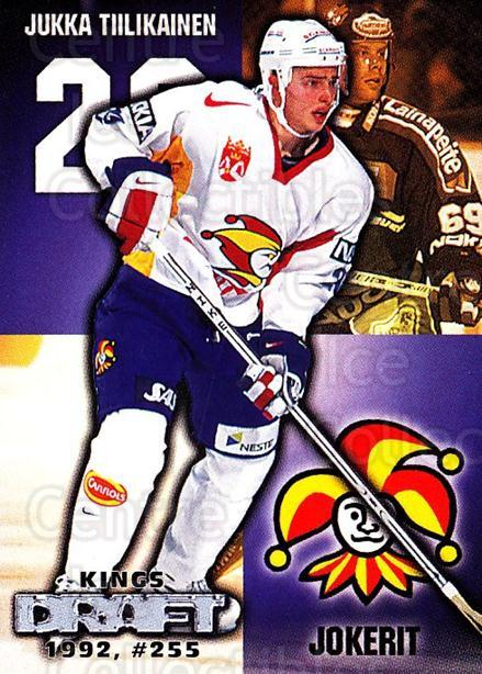 1999-00 Finnish Cardset #65 Jukka Tiilikainen<br/>7 In Stock - $2.00 each - <a href=https://centericecollectibles.foxycart.com/cart?name=1999-00%20Finnish%20Cardset%20%2365%20Jukka%20Tiilikain...&price=$2.00&code=160360 class=foxycart> Buy it now! </a>