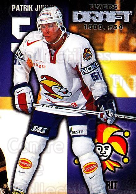 1999-00 Finnish Cardset #66 Patrik Juhlin<br/>7 In Stock - $2.00 each - <a href=https://centericecollectibles.foxycart.com/cart?name=1999-00%20Finnish%20Cardset%20%2366%20Patrik%20Juhlin...&price=$2.00&code=160361 class=foxycart> Buy it now! </a>