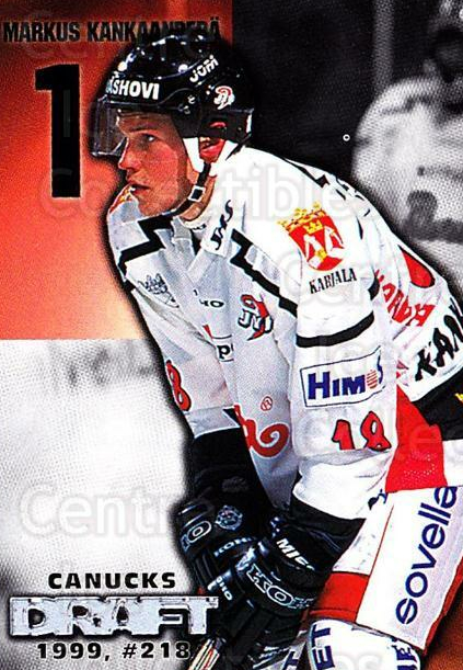 1999-00 Finnish Cardset #70 Markus Kankaanpera<br/>4 In Stock - $2.00 each - <a href=https://centericecollectibles.foxycart.com/cart?name=1999-00%20Finnish%20Cardset%20%2370%20Markus%20Kankaanp...&quantity_max=4&price=$2.00&code=160366 class=foxycart> Buy it now! </a>