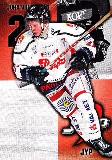 1999-00 Finnish Cardset #72 Juha Viinikainen<br/>7 In Stock - $2.00 each - <a href=https://centericecollectibles.foxycart.com/cart?name=1999-00%20Finnish%20Cardset%20%2372%20Juha%20Viinikaine...&quantity_max=7&price=$2.00&code=160368 class=foxycart> Buy it now! </a>