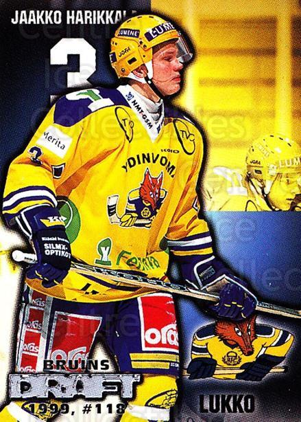 1999-00 Finnish Cardset #81 Jaakko Harikkala<br/>8 In Stock - $2.00 each - <a href=https://centericecollectibles.foxycart.com/cart?name=1999-00%20Finnish%20Cardset%20%2381%20Jaakko%20Harikkal...&price=$2.00&code=160378 class=foxycart> Buy it now! </a>