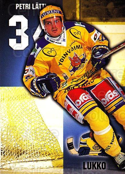 1999-00 Finnish Cardset #89 Petri Latti<br/>7 In Stock - $2.00 each - <a href=https://centericecollectibles.foxycart.com/cart?name=1999-00%20Finnish%20Cardset%20%2389%20Petri%20Latti...&quantity_max=7&price=$2.00&code=160386 class=foxycart> Buy it now! </a>