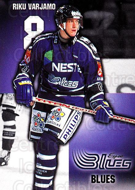 1999-00 Finnish Cardset #9 Riku Varjamo<br/>6 In Stock - $2.00 each - <a href=https://centericecollectibles.foxycart.com/cart?name=1999-00%20Finnish%20Cardset%20%239%20Riku%20Varjamo...&quantity_max=6&price=$2.00&code=160387 class=foxycart> Buy it now! </a>