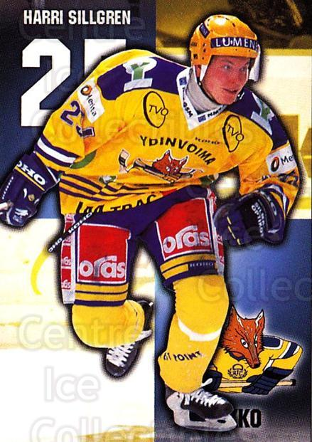 1999-00 Finnish Cardset #90 Harri Sillgren<br/>7 In Stock - $2.00 each - <a href=https://centericecollectibles.foxycart.com/cart?name=1999-00%20Finnish%20Cardset%20%2390%20Harri%20Sillgren...&quantity_max=7&price=$2.00&code=160388 class=foxycart> Buy it now! </a>