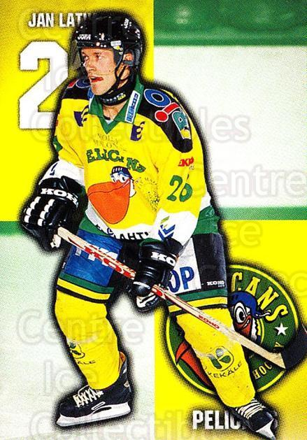 1999-00 Finnish Cardset #97 Jan Latvala<br/>6 In Stock - $2.00 each - <a href=https://centericecollectibles.foxycart.com/cart?name=1999-00%20Finnish%20Cardset%20%2397%20Jan%20Latvala...&quantity_max=6&price=$2.00&code=160395 class=foxycart> Buy it now! </a>
