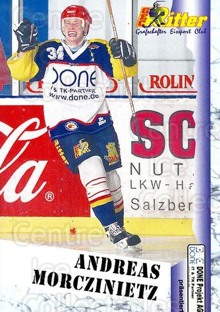 1999-00 German Bundesliga 2 #262 Andreas Morczinietz<br/>10 In Stock - $2.00 each - <a href=https://centericecollectibles.foxycart.com/cart?name=1999-00%20German%20Bundesliga%202%20%23262%20Andreas%20Morczin...&quantity_max=10&price=$2.00&code=160415 class=foxycart> Buy it now! </a>