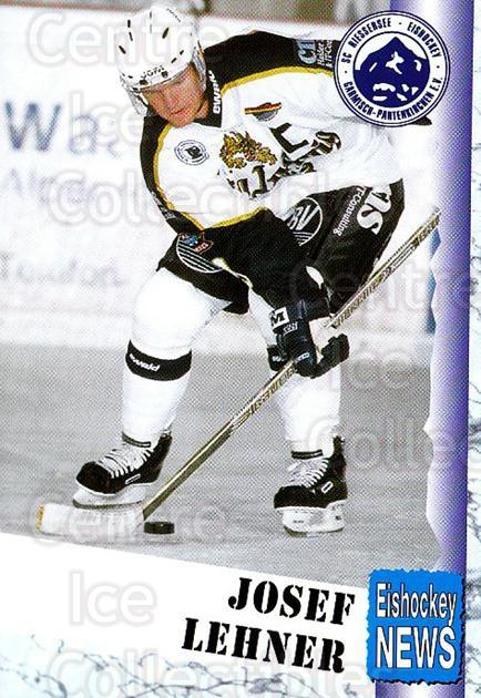 1999-00 German Bundesliga 2 #278 Josef Lehner<br/>12 In Stock - $2.00 each - <a href=https://centericecollectibles.foxycart.com/cart?name=1999-00%20German%20Bundesliga%202%20%23278%20Josef%20Lehner...&quantity_max=12&price=$2.00&code=160429 class=foxycart> Buy it now! </a>