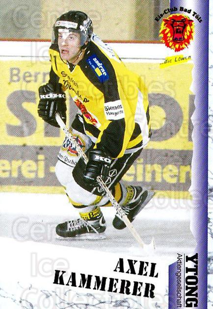 1999-00 German Bundesliga 2 #28 Axel Kammerer<br/>10 In Stock - $2.00 each - <a href=https://centericecollectibles.foxycart.com/cart?name=1999-00%20German%20Bundesliga%202%20%2328%20Axel%20Kammerer...&quantity_max=10&price=$2.00&code=160431 class=foxycart> Buy it now! </a>