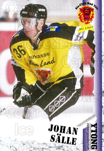 1999-00 German Bundesliga 2 #31 Johan Salle<br/>12 In Stock - $2.00 each - <a href=https://centericecollectibles.foxycart.com/cart?name=1999-00%20German%20Bundesliga%202%20%2331%20Johan%20Salle...&quantity_max=12&price=$2.00&code=160463 class=foxycart> Buy it now! </a>