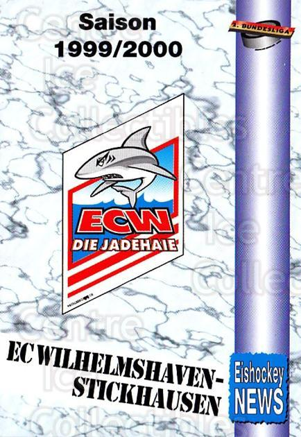 1999-00 German Bundesliga 2 #310 EC Wilhelmshaven-Stickhausen, Checklist<br/>12 In Stock - $2.00 each - <a href=https://centericecollectibles.foxycart.com/cart?name=1999-00%20German%20Bundesliga%202%20%23310%20EC%20Wilhelmshave...&quantity_max=12&price=$2.00&code=160464 class=foxycart> Buy it now! </a>