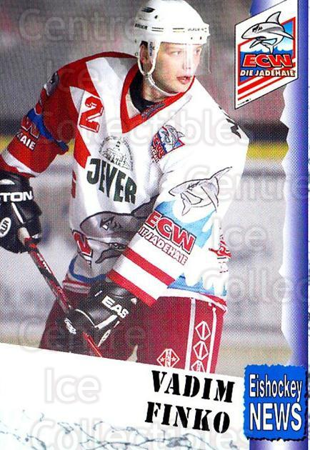 1999-00 German Bundesliga 2 #311 Vadim Finko<br/>13 In Stock - $2.00 each - <a href=https://centericecollectibles.foxycart.com/cart?name=1999-00%20German%20Bundesliga%202%20%23311%20Vadim%20Finko...&quantity_max=13&price=$2.00&code=160465 class=foxycart> Buy it now! </a>