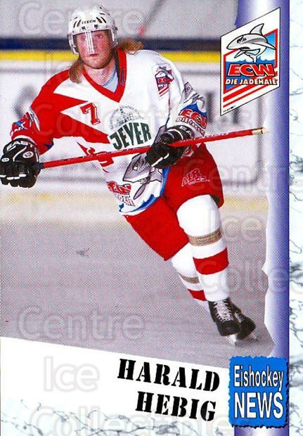 1999-00 German Bundesliga 2 #312 Harald Hebig<br/>10 In Stock - $2.00 each - <a href=https://centericecollectibles.foxycart.com/cart?name=1999-00%20German%20Bundesliga%202%20%23312%20Harald%20Hebig...&quantity_max=10&price=$2.00&code=160466 class=foxycart> Buy it now! </a>