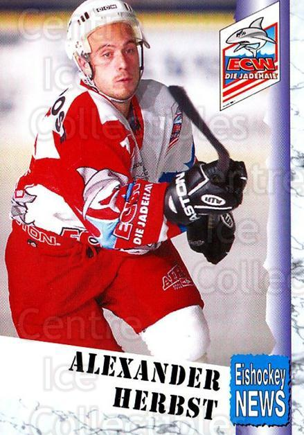 1999-00 German Bundesliga 2 #327 Alexander Herbst<br/>12 In Stock - $2.00 each - <a href=https://centericecollectibles.foxycart.com/cart?name=1999-00%20German%20Bundesliga%202%20%23327%20Alexander%20Herbs...&quantity_max=12&price=$2.00&code=160482 class=foxycart> Buy it now! </a>