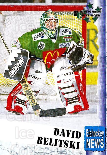 1999-00 German Bundesliga 2 #42 David Belitski<br/>10 In Stock - $2.00 each - <a href=https://centericecollectibles.foxycart.com/cart?name=1999-00%20German%20Bundesliga%202%20%2342%20David%20Belitski...&quantity_max=10&price=$2.00&code=160496 class=foxycart> Buy it now! </a>