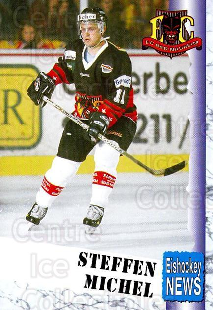 1999-00 German Bundesliga 2 #5 Steffen Michel<br/>13 In Stock - $2.00 each - <a href=https://centericecollectibles.foxycart.com/cart?name=1999-00%20German%20Bundesliga%202%20%235%20Steffen%20Michel...&quantity_max=13&price=$2.00&code=160503 class=foxycart> Buy it now! </a>