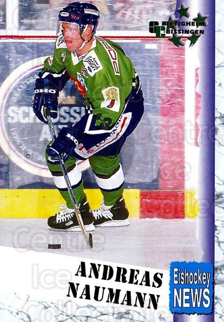 1999-00 German Bundesliga 2 #57 Andreas Naumann<br/>11 In Stock - $2.00 each - <a href=https://centericecollectibles.foxycart.com/cart?name=1999-00%20German%20Bundesliga%202%20%2357%20Andreas%20Naumann...&quantity_max=11&price=$2.00&code=160510 class=foxycart> Buy it now! </a>