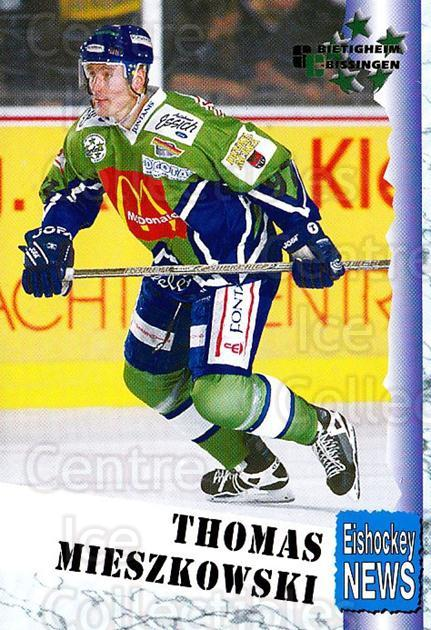 1999-00 German Bundesliga 2 #61 Thomas Mieszkowski<br/>11 In Stock - $2.00 each - <a href=https://centericecollectibles.foxycart.com/cart?name=1999-00%20German%20Bundesliga%202%20%2361%20Thomas%20Mieszkow...&quantity_max=11&price=$2.00&code=160514 class=foxycart> Buy it now! </a>