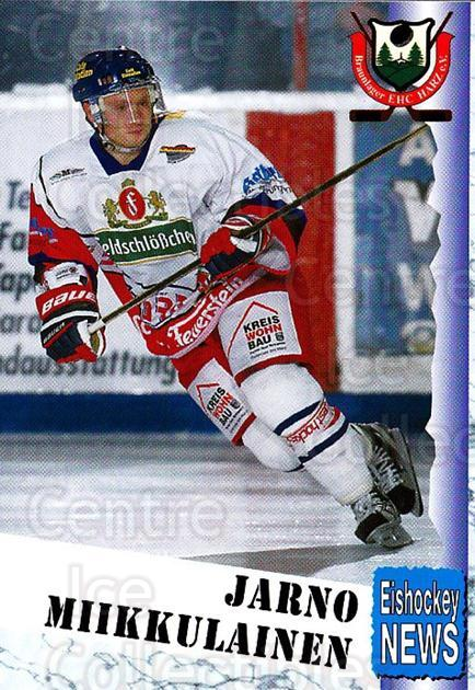 1999-00 German Bundesliga 2 #64 Jarno Miikkulainen<br/>11 In Stock - $2.00 each - <a href=https://centericecollectibles.foxycart.com/cart?name=1999-00%20German%20Bundesliga%202%20%2364%20Jarno%20Miikkulai...&quantity_max=11&price=$2.00&code=160517 class=foxycart> Buy it now! </a>