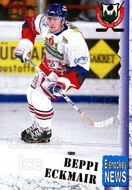 1999-00 German Bundesliga 2 #66 Josef Eckmaier<br/>11 In Stock - $2.00 each - <a href=https://centericecollectibles.foxycart.com/cart?name=1999-00%20German%20Bundesliga%202%20%2366%20Josef%20Eckmaier...&quantity_max=11&price=$2.00&code=160519 class=foxycart> Buy it now! </a>
