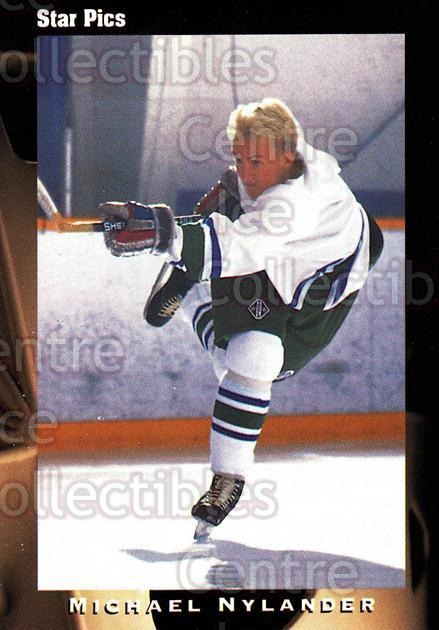 1991 Star Pics #23 Michael Nylander<br/>11 In Stock - $1.00 each - <a href=https://centericecollectibles.foxycart.com/cart?name=1991%20Star%20Pics%20%2323%20Michael%20Nylande...&quantity_max=11&price=$1.00&code=16053 class=foxycart> Buy it now! </a>