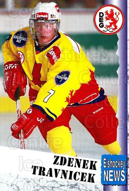 1999-00 German Bundesliga 2 #87 Zdenek Travnicek<br/>12 In Stock - $2.00 each - <a href=https://centericecollectibles.foxycart.com/cart?name=1999-00%20German%20Bundesliga%202%20%2387%20Zdenek%20Travnice...&quantity_max=12&price=$2.00&code=160541 class=foxycart> Buy it now! </a>
