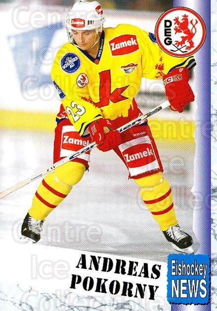 1999-00 German Bundesliga 2 #91 Andreas Pokorny<br/>10 In Stock - $2.00 each - <a href=https://centericecollectibles.foxycart.com/cart?name=1999-00%20German%20Bundesliga%202%20%2391%20Andreas%20Pokorny...&quantity_max=10&price=$2.00&code=160545 class=foxycart> Buy it now! </a>