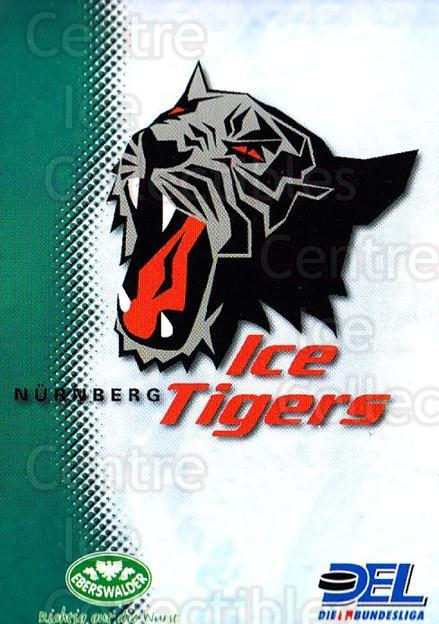 1999-00 German DEL #25 Nuermberg Ice Tigers, Checklist<br/>8 In Stock - $2.00 each - <a href=https://centericecollectibles.foxycart.com/cart?name=1999-00%20German%20DEL%20%2325%20Nuermberg%20Ice%20T...&quantity_max=8&price=$2.00&code=160565 class=foxycart> Buy it now! </a>
