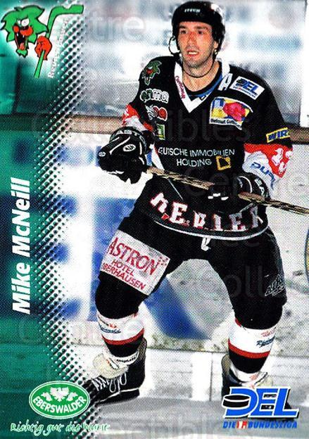 1999-00 German DEL #299 Mike McNeill<br/>10 In Stock - $2.00 each - <a href=https://centericecollectibles.foxycart.com/cart?name=1999-00%20German%20DEL%20%23299%20Mike%20McNeill...&quantity_max=10&price=$2.00&code=160612 class=foxycart> Buy it now! </a>