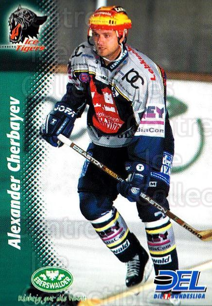1999-00 German DEL #34 Alexander Cherbayev<br/>9 In Stock - $2.00 each - <a href=https://centericecollectibles.foxycart.com/cart?name=1999-00%20German%20DEL%20%2334%20Alexander%20Cherb...&price=$2.00&code=160652 class=foxycart> Buy it now! </a>