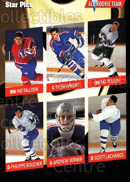 1991 Star Pics #36 Tyler Wright, Pat Falloon<br/>7 In Stock - $1.00 each - <a href=https://centericecollectibles.foxycart.com/cart?name=1991%20Star%20Pics%20%2336%20Tyler%20Wright,%20P...&quantity_max=7&price=$1.00&code=16065 class=foxycart> Buy it now! </a>