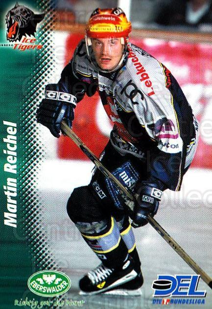 1999-00 German DEL #35 Martin Reichel<br/>6 In Stock - $2.00 each - <a href=https://centericecollectibles.foxycart.com/cart?name=1999-00%20German%20DEL%20%2335%20Martin%20Reichel...&price=$2.00&code=160661 class=foxycart> Buy it now! </a>