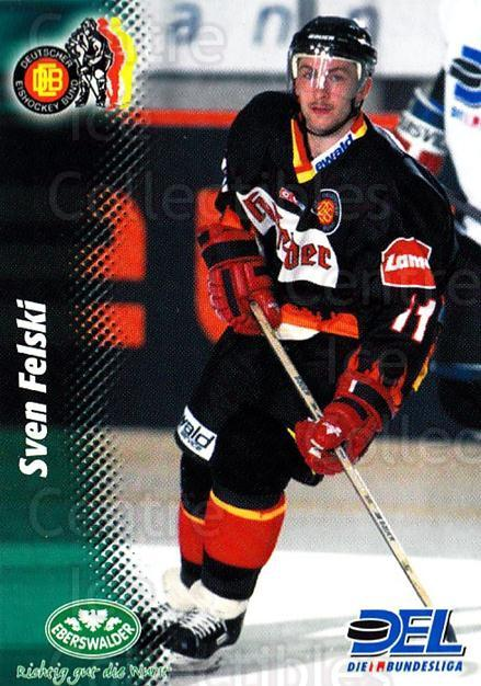 1999-00 German DEL #372 Sven Felski<br/>8 In Stock - $2.00 each - <a href=https://centericecollectibles.foxycart.com/cart?name=1999-00%20German%20DEL%20%23372%20Sven%20Felski...&quantity_max=8&price=$2.00&code=160682 class=foxycart> Buy it now! </a>