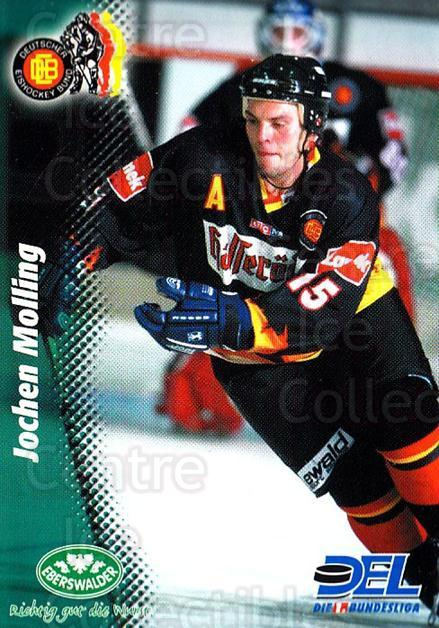 1999-00 German DEL #373 Jochen Molling<br/>8 In Stock - $2.00 each - <a href=https://centericecollectibles.foxycart.com/cart?name=1999-00%20German%20DEL%20%23373%20Jochen%20Molling...&quantity_max=8&price=$2.00&code=160683 class=foxycart> Buy it now! </a>