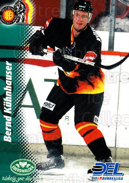 1999-00 German DEL #376 Bernd Kuhnhauser<br/>9 In Stock - $2.00 each - <a href=https://centericecollectibles.foxycart.com/cart?name=1999-00%20German%20DEL%20%23376%20Bernd%20Kuhnhause...&quantity_max=9&price=$2.00&code=160686 class=foxycart> Buy it now! </a>