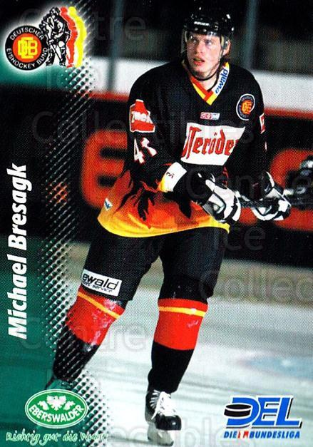 1999-00 German DEL #383 Michael Bresagk<br/>7 In Stock - $2.00 each - <a href=https://centericecollectibles.foxycart.com/cart?name=1999-00%20German%20DEL%20%23383%20Michael%20Bresagk...&quantity_max=7&price=$2.00&code=160694 class=foxycart> Buy it now! </a>