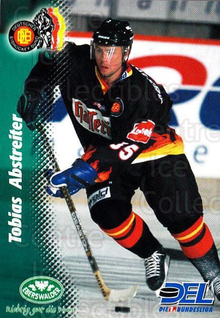 1999-00 German DEL #386 Tobias Abstreiter<br/>8 In Stock - $2.00 each - <a href=https://centericecollectibles.foxycart.com/cart?name=1999-00%20German%20DEL%20%23386%20Tobias%20Abstreit...&quantity_max=8&price=$2.00&code=160697 class=foxycart> Buy it now! </a>