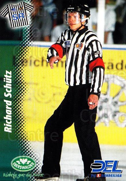 1999-00 German DEL #413 Richard Schultz, Referee<br/>9 In Stock - $2.00 each - <a href=https://centericecollectibles.foxycart.com/cart?name=1999-00%20German%20DEL%20%23413%20Richard%20Schultz...&quantity_max=9&price=$2.00&code=160726 class=foxycart> Buy it now! </a>