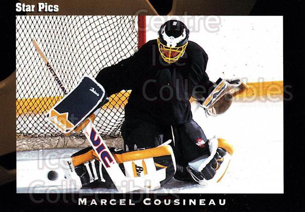 1991 Star Pics #47 Marcel Cousineau<br/>10 In Stock - $1.00 each - <a href=https://centericecollectibles.foxycart.com/cart?name=1991%20Star%20Pics%20%2347%20Marcel%20Cousinea...&quantity_max=10&price=$1.00&code=16077 class=foxycart> Buy it now! </a>